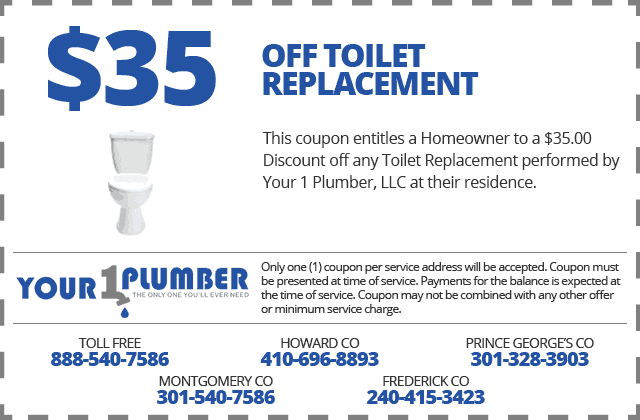 Toilet Replacement Coupon