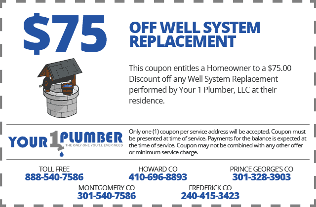 Well System Replacement Coupon
